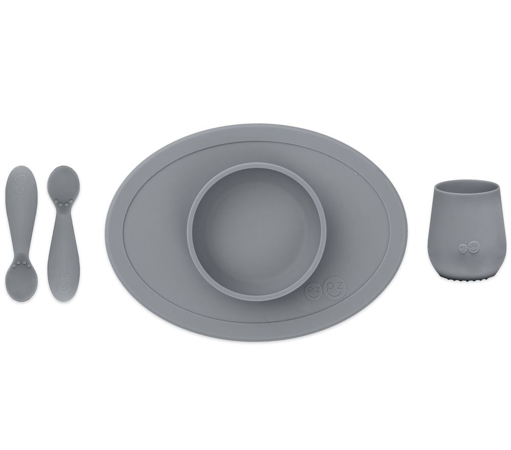 EZPZ First Foods Set - Gray