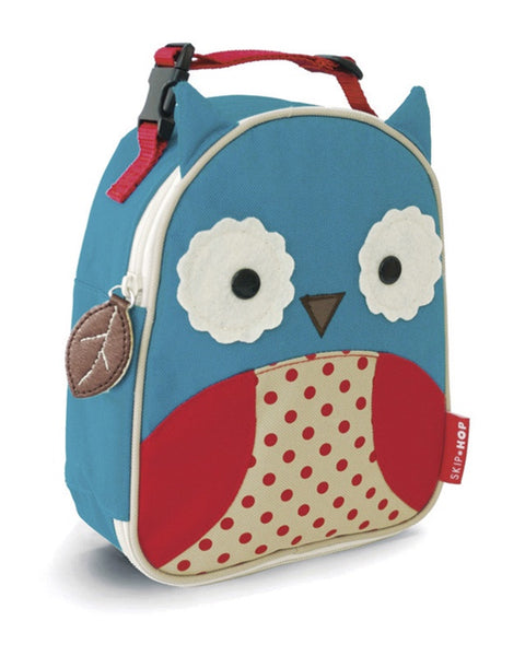 Skip Hop Zoo Insulated Lunch Bag - Owl