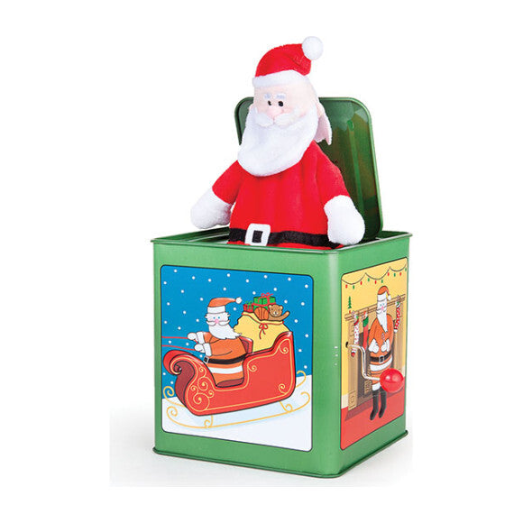 Jack Rabbit Creations Jack in the Box - Holiday Santa