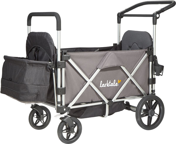 Larktale Caravan Stroller/Wagon - Mornington Grey
