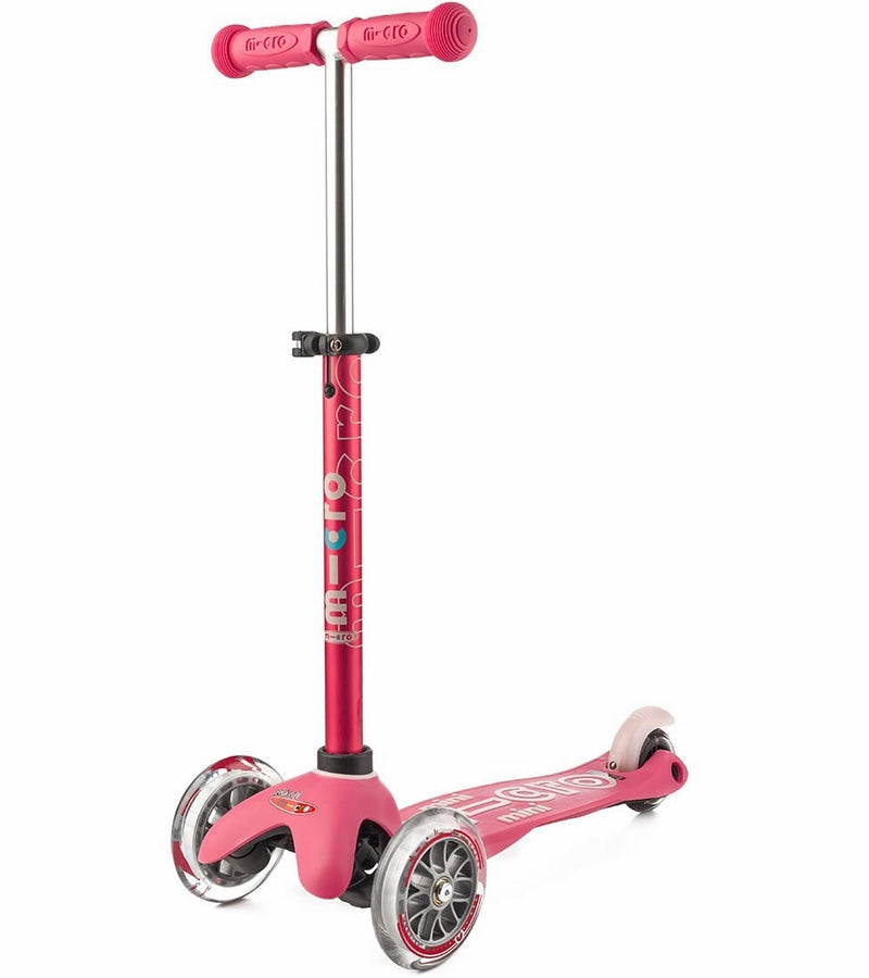 Micro Kickboard Mini Deluxe LED Scooter - Pink