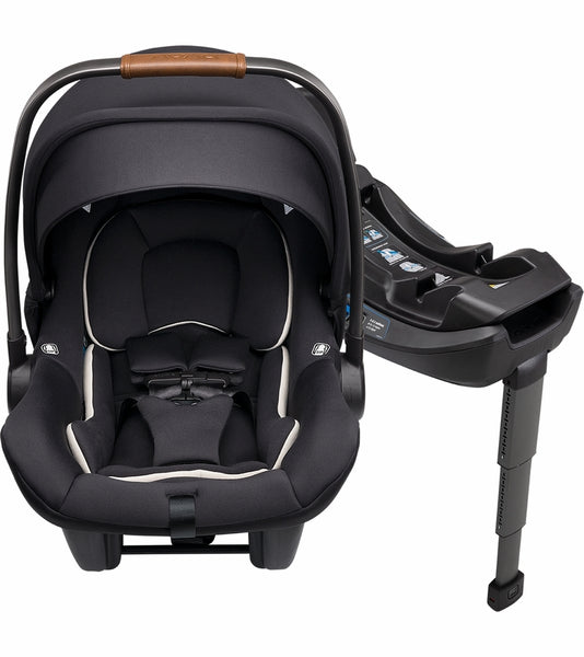 Nuna Pipa Lite R Infant Car Seat with Base - Caviar