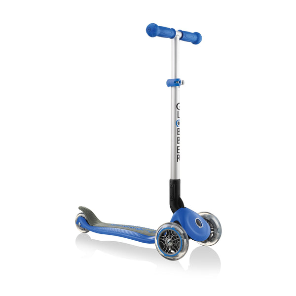 Globber Primo Foldable Scooter - Navy