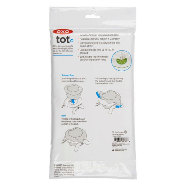 OXO 2-IN-1 Potty Refill Bags - 10 pack