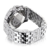 Iced Out Watches Luxurman Mens Diamond Watch 1.25ct