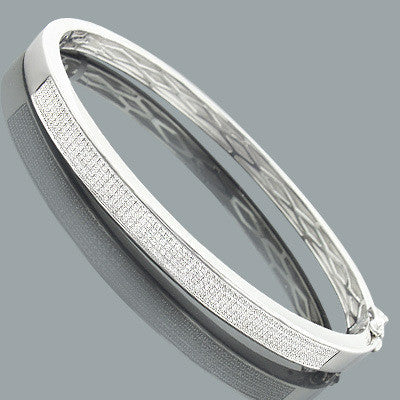diamonds bracelet bangle htm genuine diamond in for with silver girls bracelets children sterling and bangles