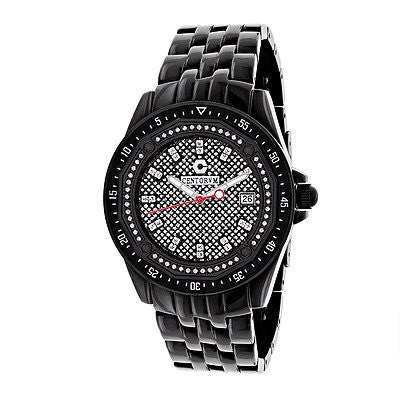Black Centorum Diamond Watch 0.5ct Midsize Falcon
