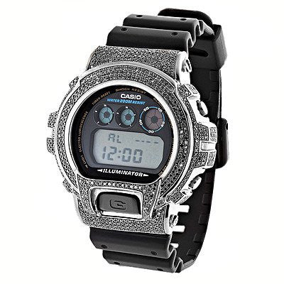 Casio G-Shock Black Diamond Watch DW6900 3.5ct