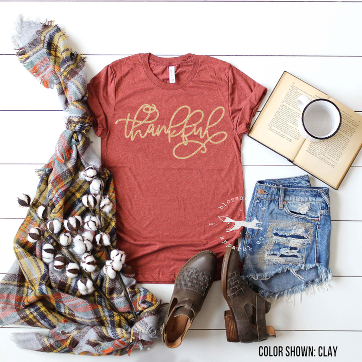 thankful-gold-glitter-thanksgiving-shirt