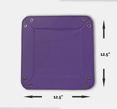 Faux Leather Tray IP/LT-003