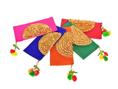 Money Envelopes in Fabric and Gota