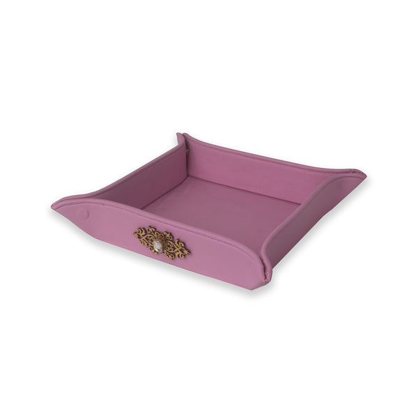 Faux Leather Tray IP/LT-002