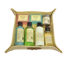 Gift Tray of Hair and Skin Products