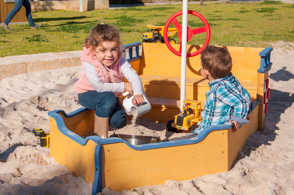 Boat Shaped Sandpit