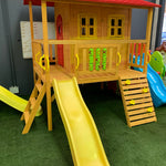 Play Shack cubby house on display at showroom in Perth Western Australia