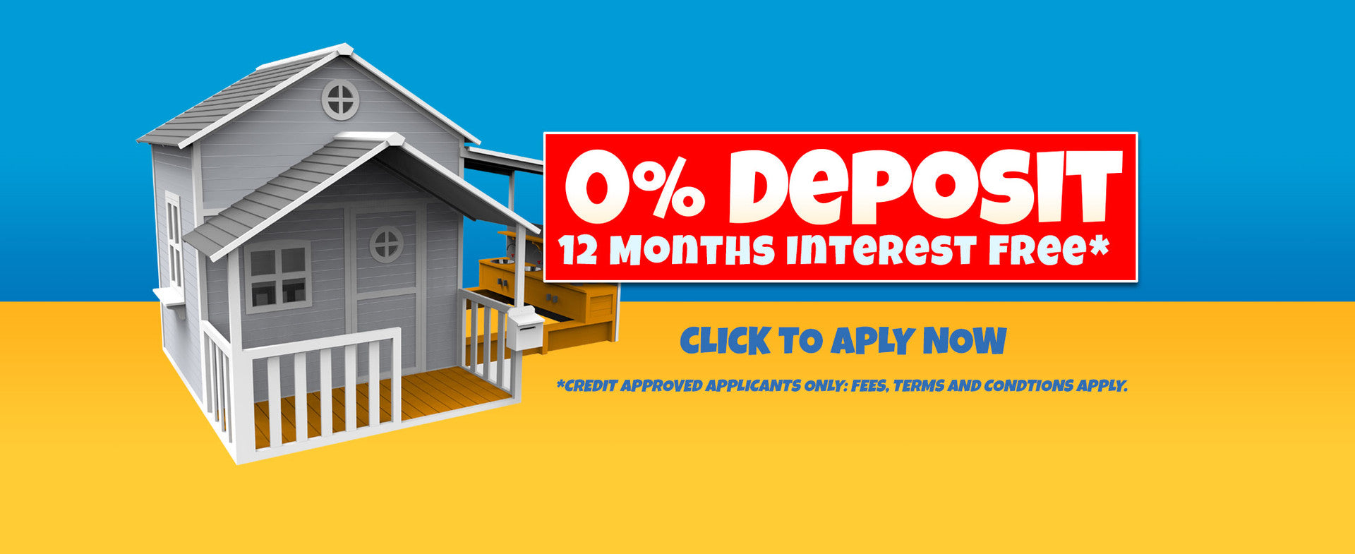 0% depoisit intereste free finance for cubb houses