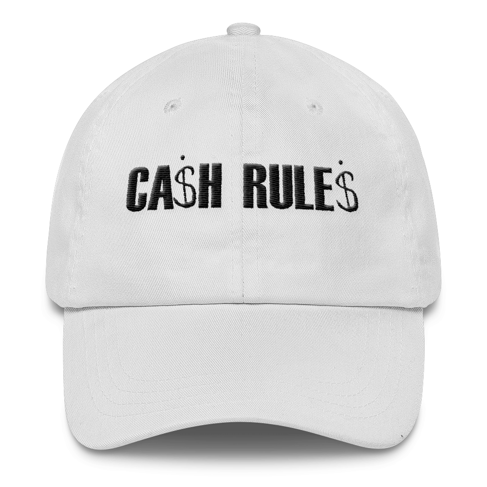 CASH RULES DAD CAP