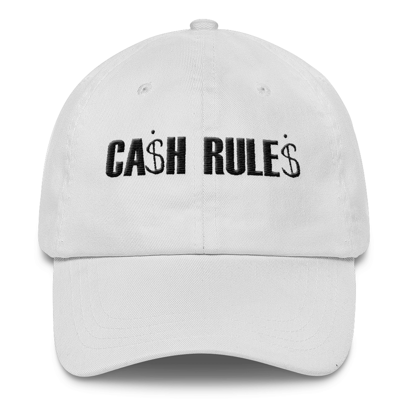 CASH RULES DAD CAP - SIOBHAN HUNTER BRAND
