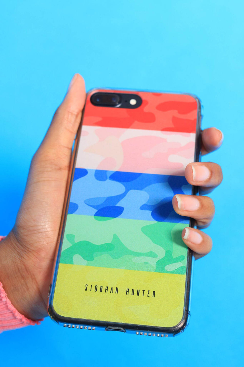 FIGHT FOR HUMANITY PHONE CASE - SIOBHAN HUNTER BRAND
