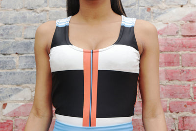 SPARK PLUG CROP TOP - SIOBHAN HUNTER BRAND