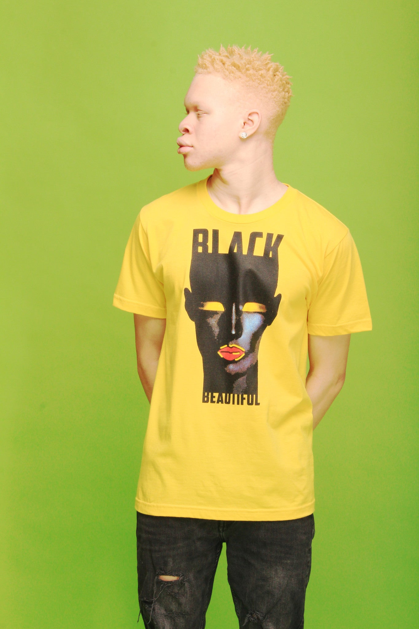 BLACK BEAUTIFUL SABLE UNISEX T-SHIRT - SIOBHAN HUNTER BRAND