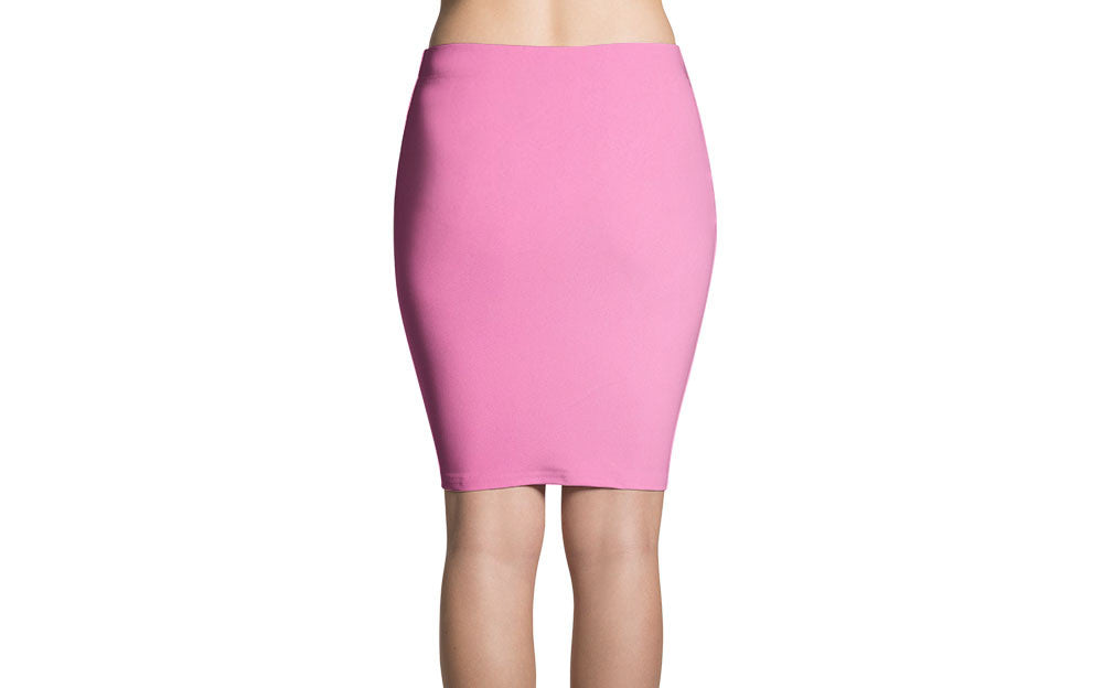 PINK SINGLES PENCIL SKIRT - SIOBHAN HUNTER BRAND