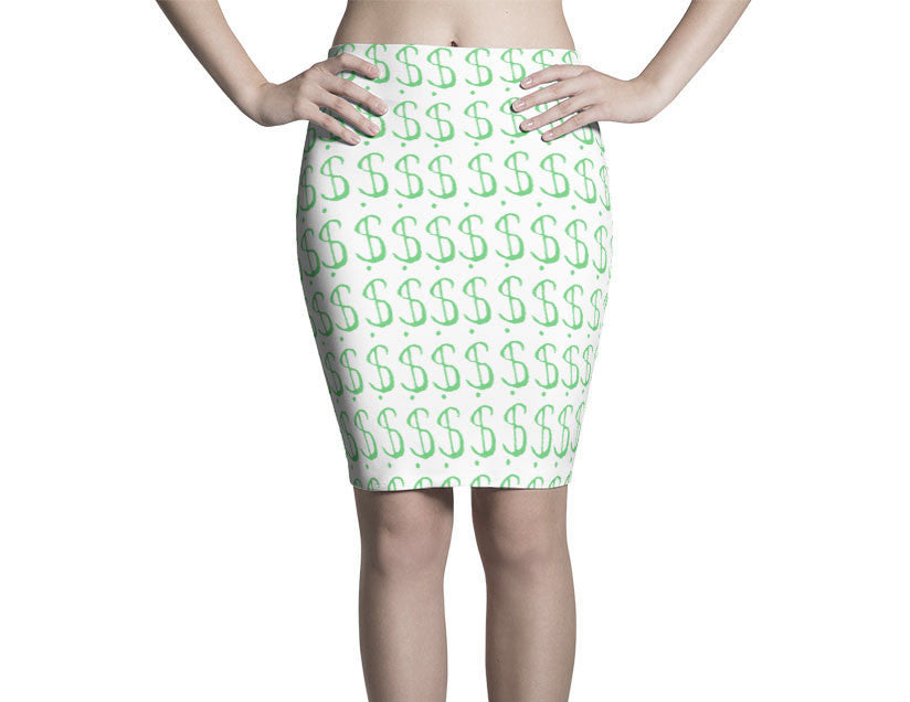 PINK SINGLES PENCIL SKIRT