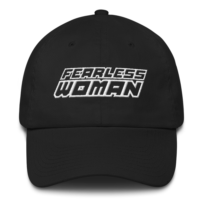FEARLESS WOMAN DAD HAT - SIOBHAN HUNTER BRAND