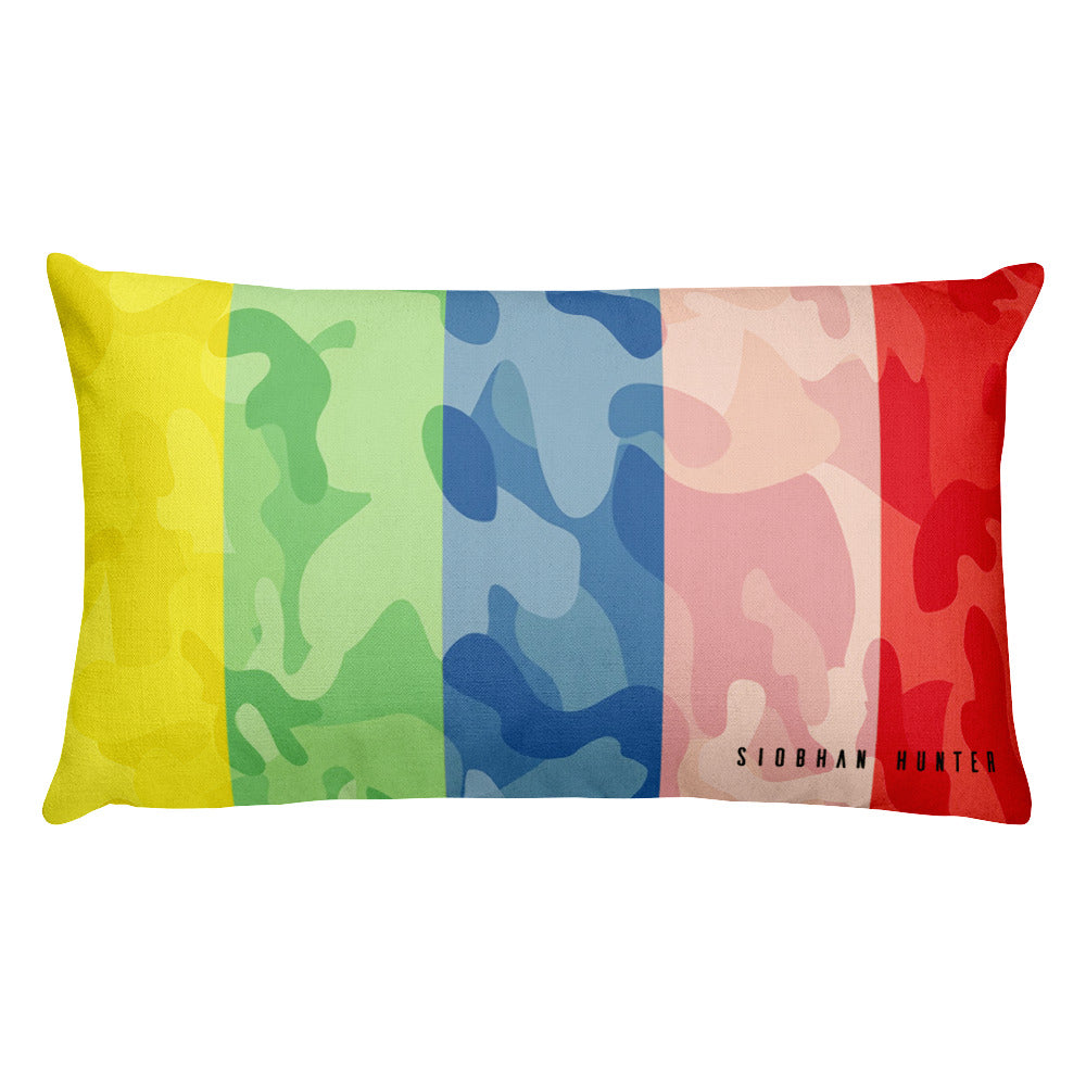FIGHT FOR HUMANITY THROW PILLOW