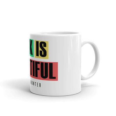 BLACK IS BEAUTIFUL MUG - SIOBHAN HUNTER BRAND