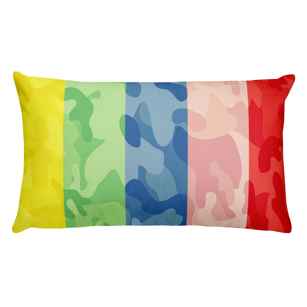 FIGHT FOR HUMANITY THROW PILLOW - SIOBHAN HUNTER BRAND