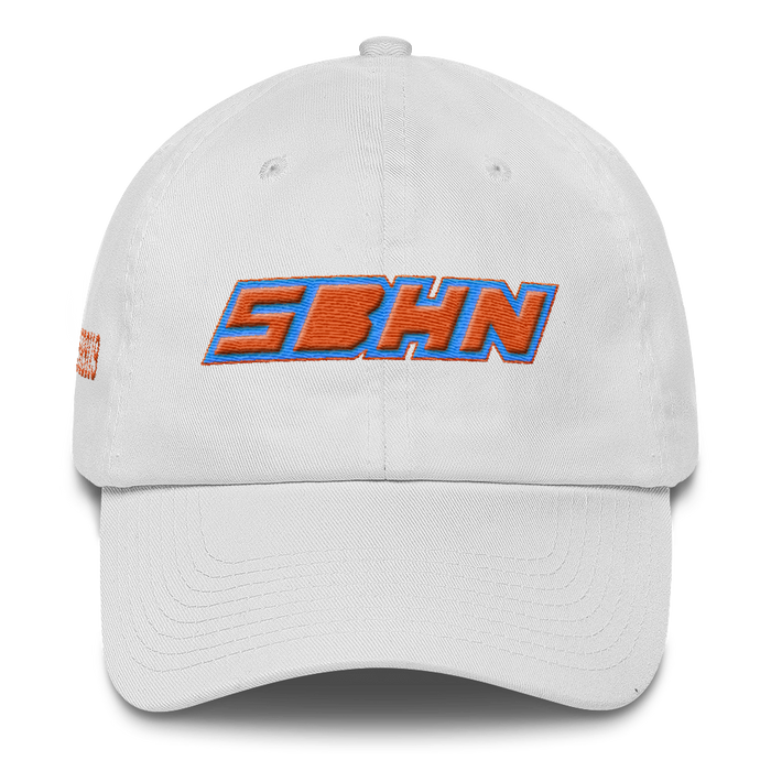 CYCLEPATH DAD HAT- WHITE - SIOBHAN HUNTER BRAND