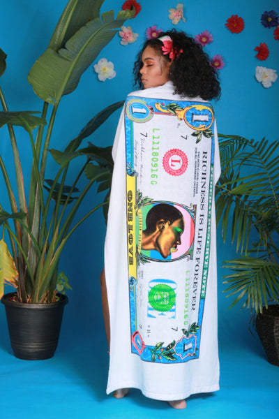 SLAVE TO THE RHYTHM BEACH TOWEL - SIOBHAN HUNTER BRAND