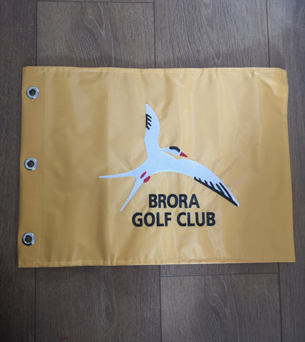 Brora GC Pin Flag