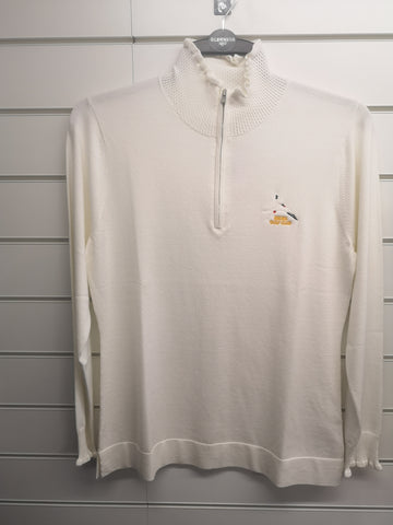 Peter Millar Ladies 1/4 Zip Jumper