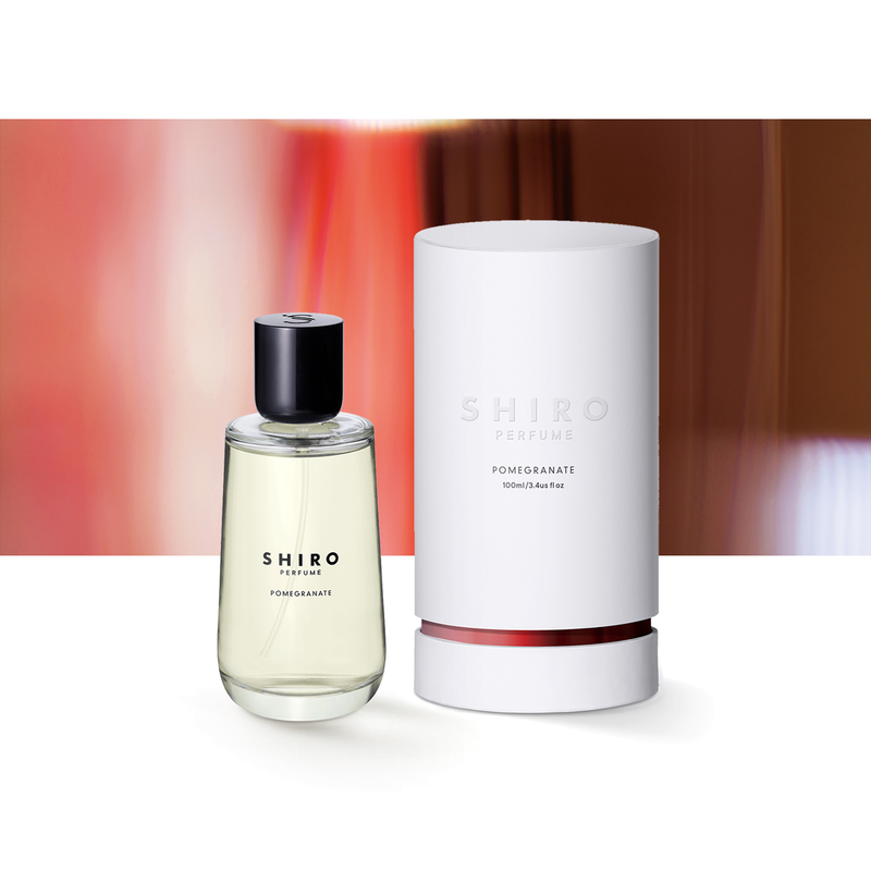 SHIRO PERFUME <br> POMEGRANATE (100mL / 50mL)