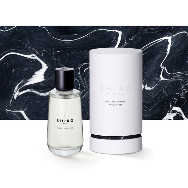 SHIRO PERFUME <br> SMOKED LEATHER (100mL / 50mL)