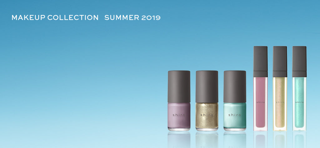 shiro MAKEUP COLLECTION SPRING 2019
