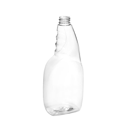 750ml Clear PET Spray Bottle - 100 qty