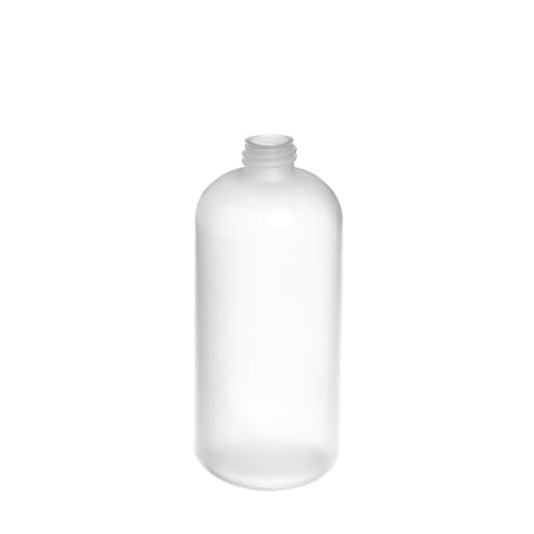 250ml Natural LDPE Boston Bottle