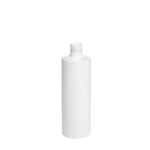 250ml White Cylindrical Bottle (22/415 neck) - 330 qty