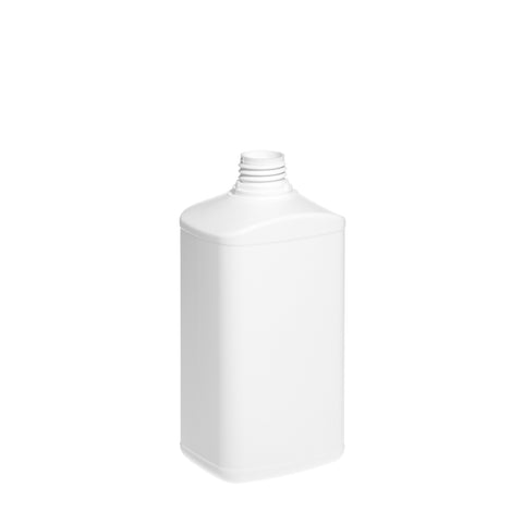 1Ltr White T/E Brecon Bottle