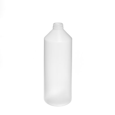 1Ltr Natural Cylindrical Bottle (31/400 neck) - 96 qty