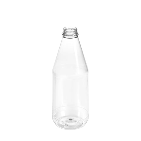 1Ltr Clear Round Juice Bottle