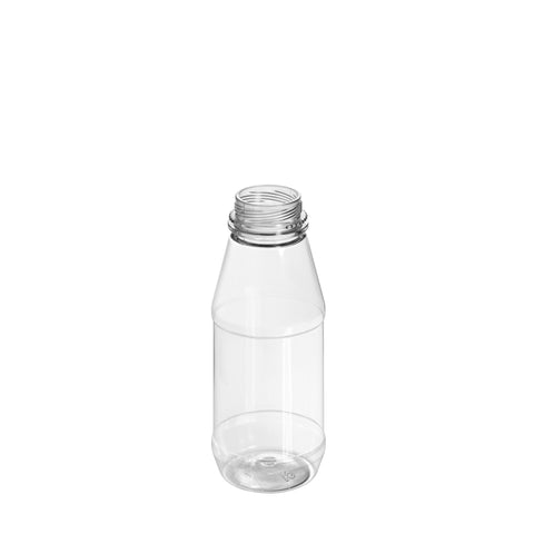 250ml Clear Round Juice Bottle - 182 qty