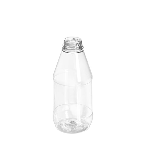 500ml Clear Round Juice Bottle - 96 qty