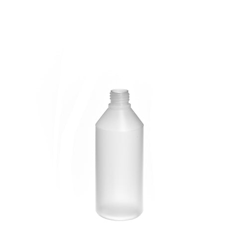 250ml Natural Cylindrical Bottle (24/410 neck) - 420 qty