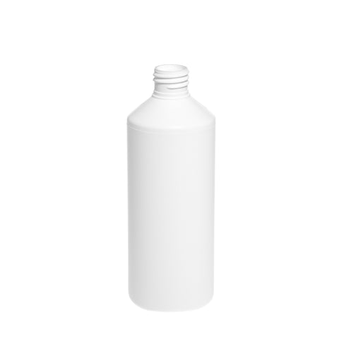 500ml White Cylindrical Bottle - 216 qty