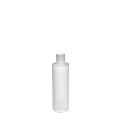 100ml Natural Cylindrical Bottle (22/415 neck) - 300 qty