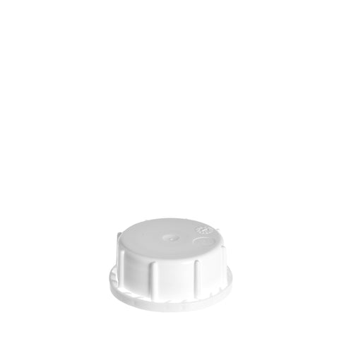 51mm White T/E Cap